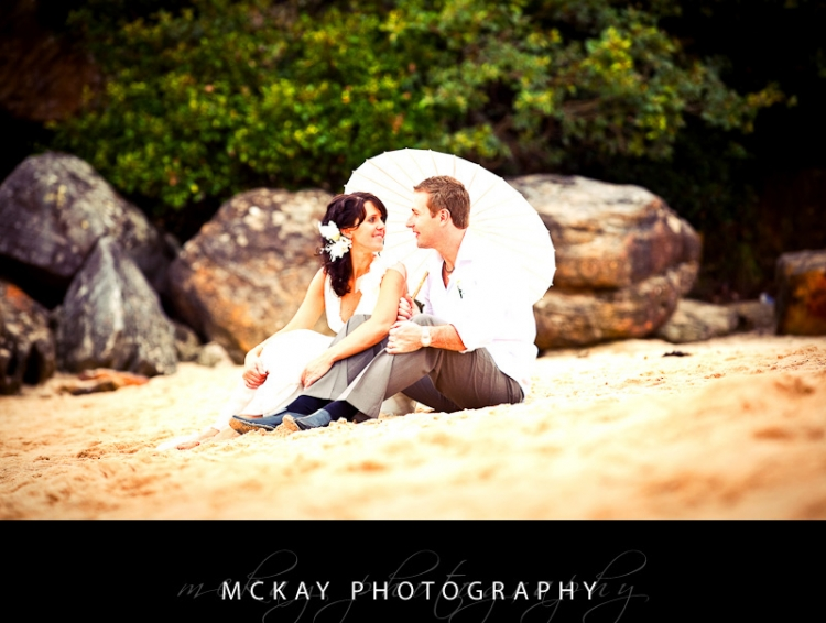 Shelly Beach wedding