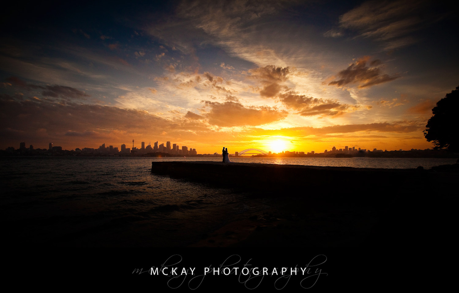 Sunset Wedding Photos Sydney