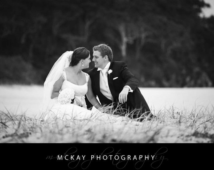Shoal Bay wedding