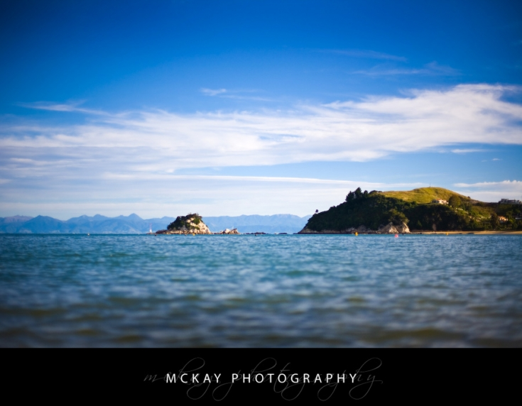 The view from Kaiteriteri Beach