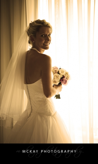 bride at Sebel Manly