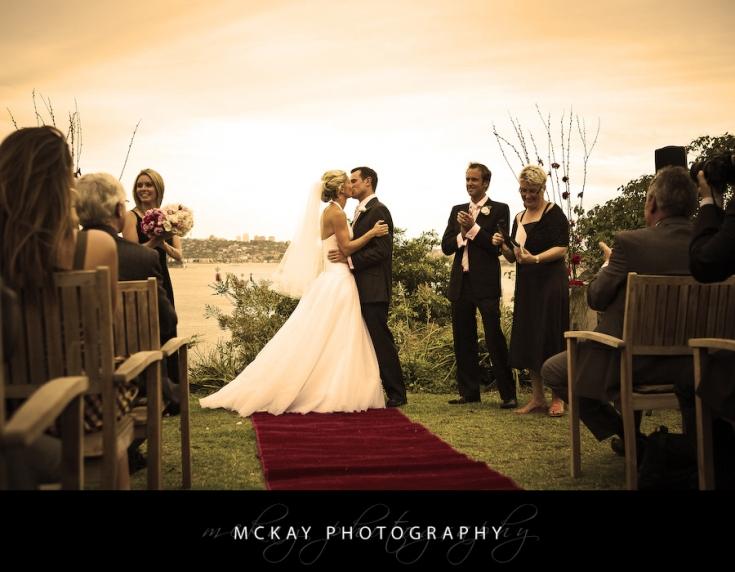 bride and groom Gunners Barracks