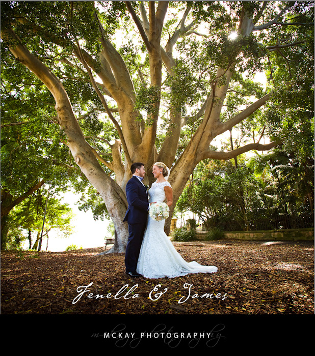 Fenella & James were married at St Marks Church Darling Point