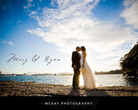 Mary & Ryan's wedding at Bradley's Head and the Taronga Centre